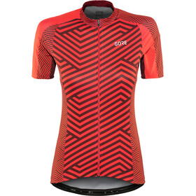 GORE WEAR C3 Jersey Damen hibiscus pink/chestnut red
